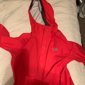 The North Face rainjacket size small